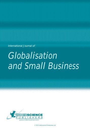impact globalisation business While global business is in need of reform, there are four ways within the system  that can  our impact further reading arrow grey  should global business just  accept that globalization and free trade are things of the past,.