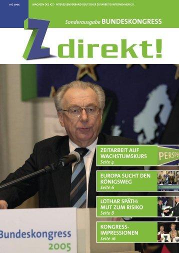 Z direkt! Ausgabe 1/2005