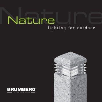 nature - lighting for outdoor Download PDF - Brumberg Leuchten