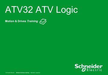 ATV32 ATV Logic - Info PLC