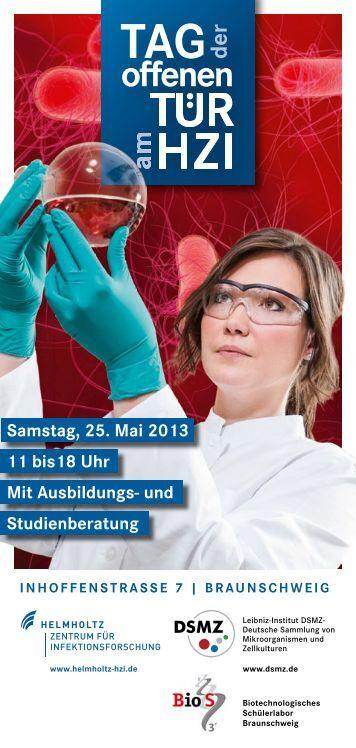 Flyer DSMZ/HZI - Leibniz Institut DSMZ - Deutsche Sammlung von ...