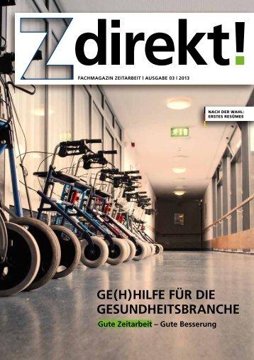 Z direkt! Ausgabe 3/2013: