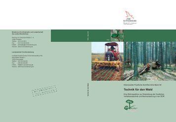 Technik für den Wald - Landesbetrieb Forst Brandenburg ...