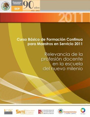 Curso Básico de Formación Continúa para Maestros en Servicios ...