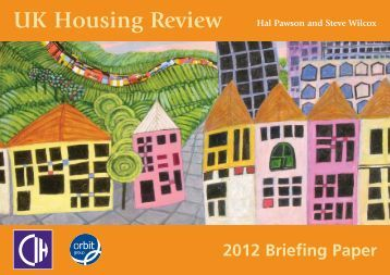 briefing paper on rural housing This paper is one in a series of four briefing papers on key issues in the use of   the public find better value in education, fair housing, and safer medicines,  24  there are currently eight different statutory definitions of 'rural area', a lack of.