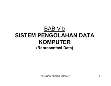 BAB-5b Representasi Data - Blog Bina Darma