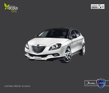 listino prezzi 01 / 2012 - Fiat Group Automobiles Press