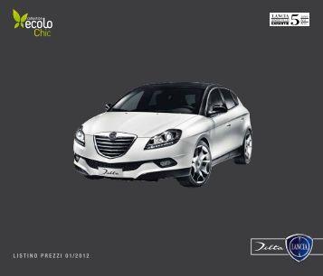 listino prezzi 01 / 2012 - Fiat Group Automobiles Press