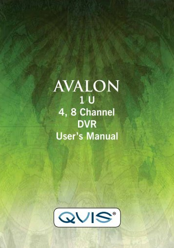 Avalon Manual - Qvis Security