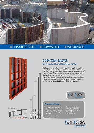 Skydeck Formwork With Drophead Peri