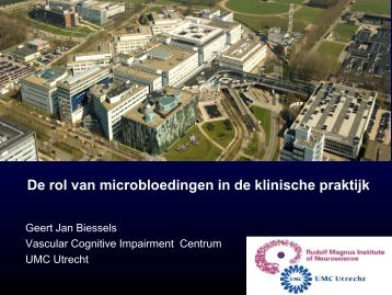 Diabetic encephalopathy - UMC Utrecht