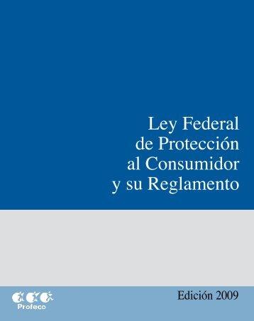 Ley Federal de Protección al Consumidor (LFPC) - Profeco