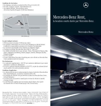 Mercedes magazines for Where can i rent a mercedes benz