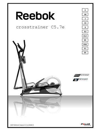 kettler condor cross trainer user manual