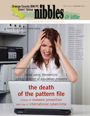 Sep. 2009 - Orange County IBM PC Users' Group
