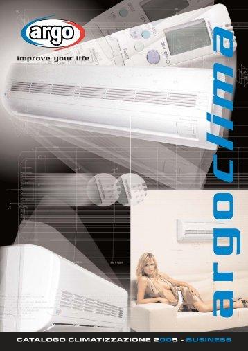 ARGO CLIMA catalogo climatizzazione 2005 - Certificazione ...