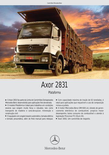 Axor 2831 - Mercedes-Benz