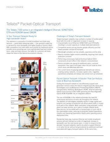 Tellabs Packet-Optical Transport