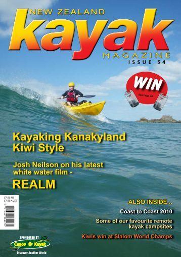 Kayaking Kanakyland Kiwi Style - Canoe & Kayak