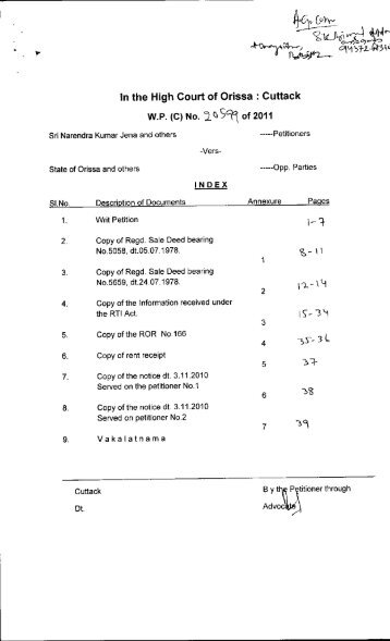 WP(C).No. 20599 of 2011 H&UD; Deptt.pdf - Advocate General Orissa