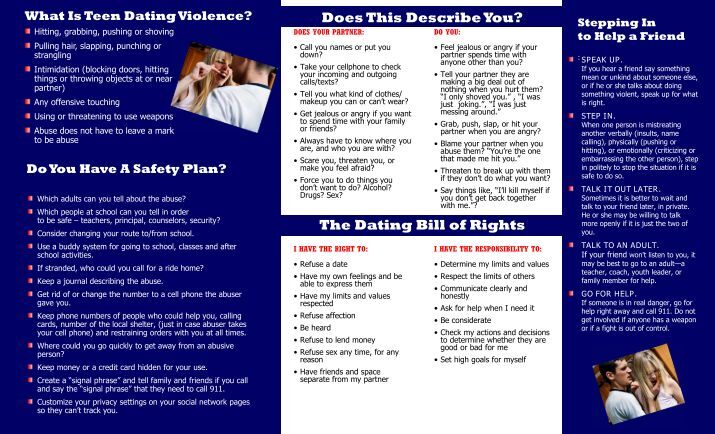 Teen Dating Violence Video