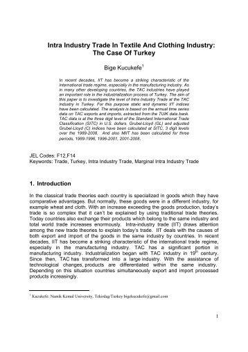 determinants of intra industry trade Determinants of iran's bilateral intra-industry trade in pharmaceutical industry  siamak aghlmanda, bahlol rahimib, hamidreza farrokh-eslamlouc, bahram.