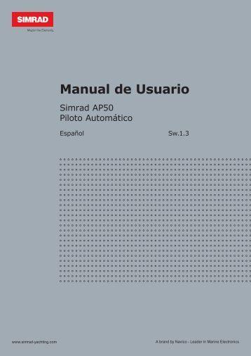 Manual de Usuario - Simrad Professional Series - Simrad Yachting