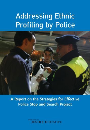 essay on stop and search