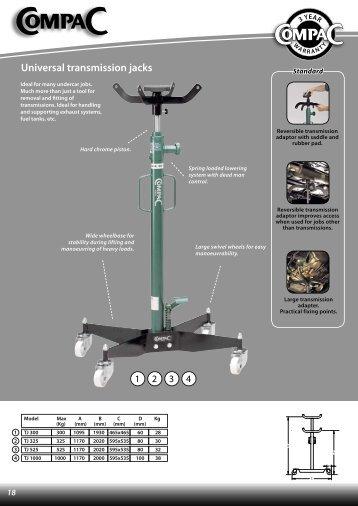 Universal transmission jacks - CompaC