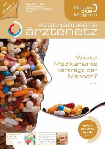 GesundPlus Magazin, Vielfachmedikation