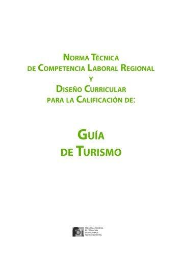 GUÍA DE TURISMO - OIT/Cinterfor