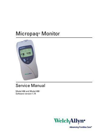 welch allyn 53nto service manual