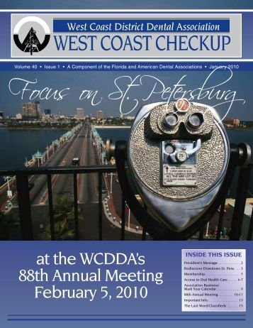 Focus on St. Petersburg - West Coast Dental Association