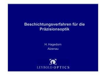Leybold Optics GmbH (Dr.H.Hagedorn)