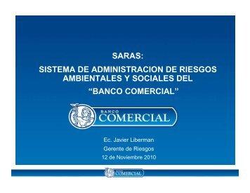 sistema de administracion de riesgos ambientales y sociales del