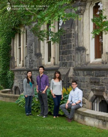 2011 YEAR IN REVIEW - the Faculty of Arts & Science - University of ...