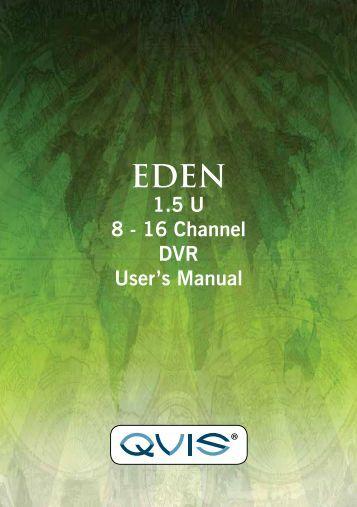 Eden Manual - Qvis Security