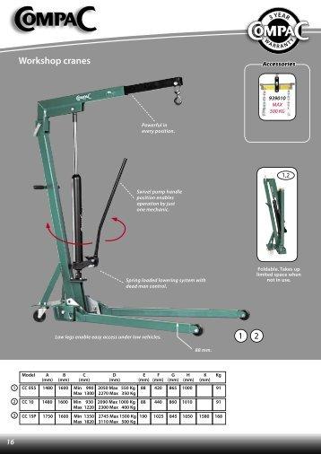 Workshop cranes - CompaC