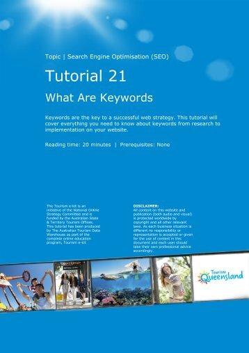 Tutorial 21