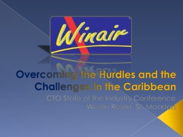 Presentation by Edwin Hodge, Managing Director, WinAir