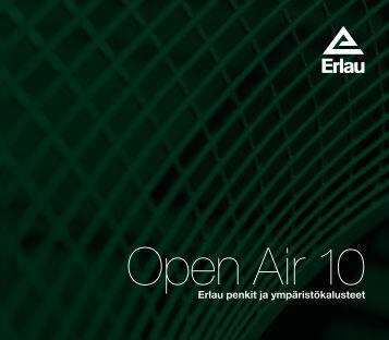 Open Air tuoteluettelo, pdf - Jana Oy