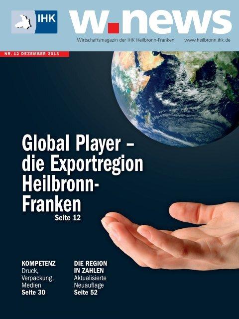 Exportregion Heilbronn-Franken | w.news 12.2013