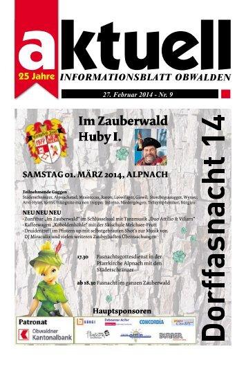 Aktuell Obwalden 09-2014