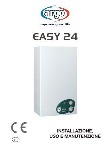 ARGO CLIMA manuale uso easy 24 - Certificazione energetica edifici