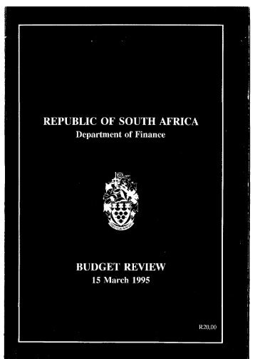 1995 - National Treasury