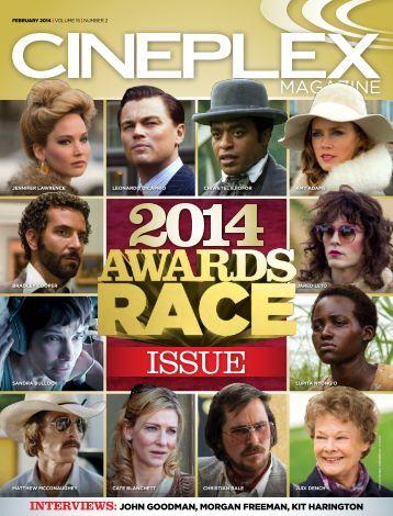 Cineplex Magazine February2014