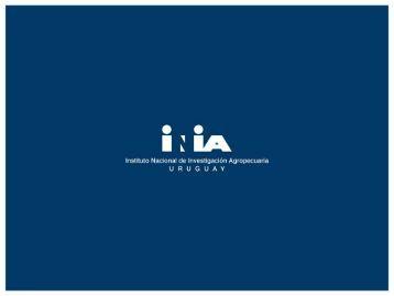 Present. agenda investigación - Inia