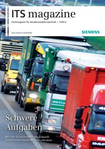 Ausgabe 01/12 - Siemens Schweiz AG