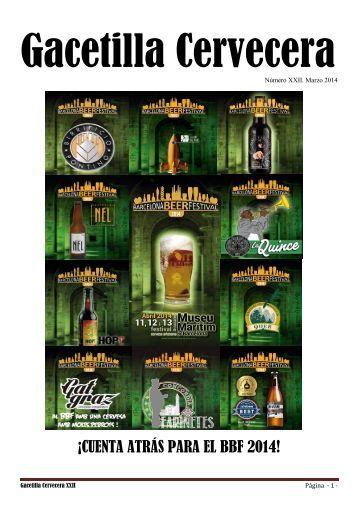 Gacetilla Cervecera XXII