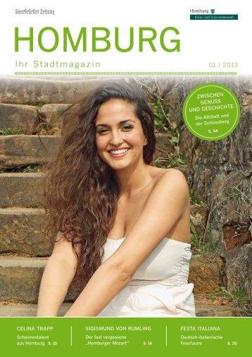 Stadtmagazin Homburg 01|2013